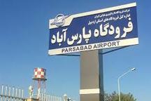 فرودگاه پارس آباد -تبریز صاحب خط پروازی می شود