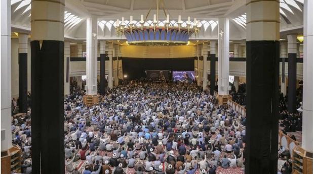 مراسم هفتمین روزدرگذشت آیت الله ایمانی درزادگاهش برگزار شد