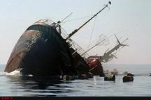 غرق شدن یک فروند لنج در آبهای سواحل بوشهر  نجات ملوانان از حادثه