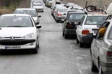 ترافیک در هر 2 مسیر جاده کندوان نیمه سنگین است