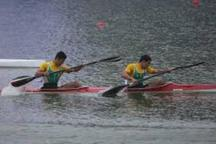 حضور چهار گیلانی در اردوی تیم ملی قایقرانی کایاک مردان