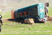 برخورد پراید و تانکر حمل سوخت در کرمانشاه ۲ کشته برجای گذاشت