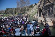 بیش از 42 هزار گردشگر از تاق بستان دیدن کردند