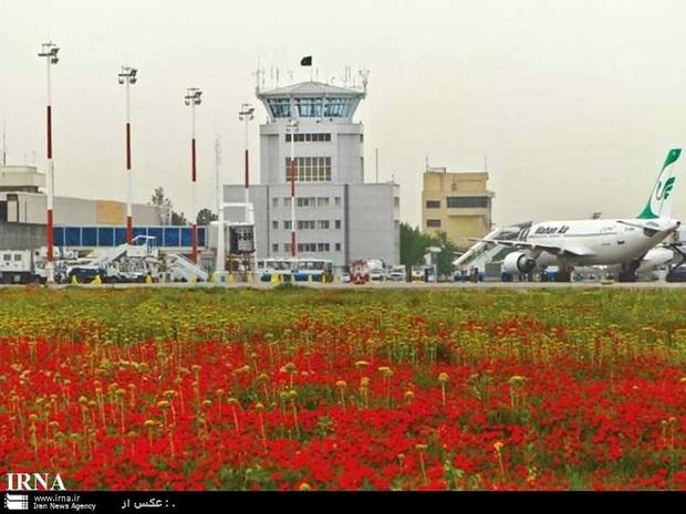 427 هزار و 604 مسافر نوروزی از طریق فرودگاه مشهد جابجا شدند