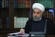 روحانی «قانون بودجه سال1398 کل کشور» را برای اجرا ابلاغ کرد
