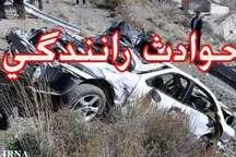 واژگونی پژو در مسیر زابل - زاهدان یک کشته هشت مجروح برجای گذاشت