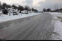 جاده اندیکا - شهرکرد برف روبی شد