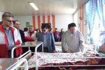 کمک های انساندوستانه هلال احمر به سالمندان در گیلان