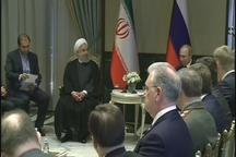 دیدار روحانی و پوتین روسای جمهور ایران و روسیه در آنکارا