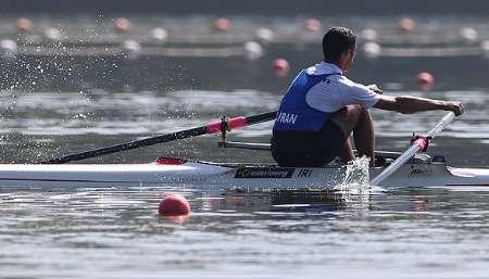 با محرومیت ۵ قایقران روسی، یک سهمیه المپیک به ایران تعلق گرفت