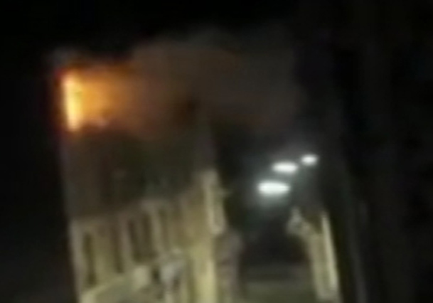 فیلم / لحظه انفجار نخستین زن انتحاری در پاریس