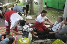 نجاتگران هلال احمر گیلان به 242 نفر امدادرسانی کردند