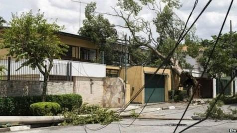 طوفان مرگبار در جنوب آمریکا
