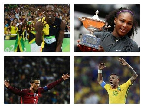 ورزشکارانی که نامشان در کتاب گینس ثبت میشود + تصاویر