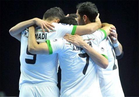 برتری تیم ملی فوتسال مقابل ازبکستان در دیداری دوستانه