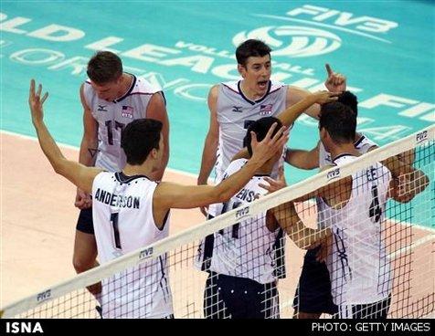 کاپیتان تیم ملی والیبال آمریکا: دریافت، باعث برتری ما برابر ایران شد