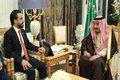 دیدار رئیس مجلس عراق با پادشاه عربستان
