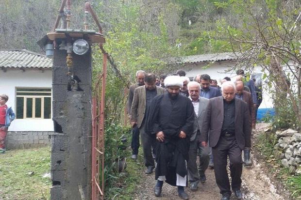 گاز 142 خانوار روستاهای سیل زده تالش وصل شد