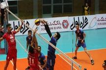 تیم والیبال شهرداری ارومیه بازهم مقابل پیکان تهران باخت