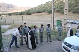 دیدار نماینده ولی فقیه در استان و رئیس دادگستری لرستان با پرسنل حفاظت محیط زیست