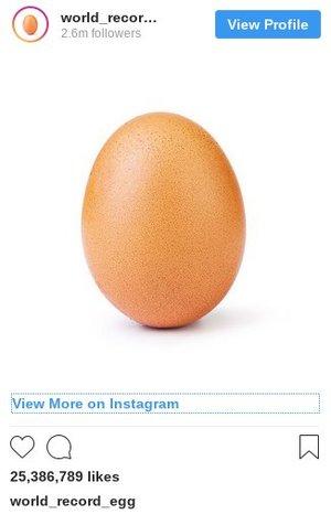 این عکس رکورد لایک در اینستاگرام را شکست