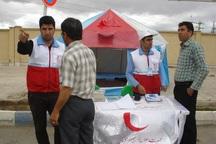 داوطلبان هلالاحمر ابرکوه 6 هزار مسافر را راهنمایی کردند