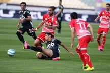 پیروزی تیم فوتبال سیاه جامگان مشهد در برابر پرسپولیس تهران