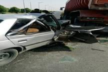 2 تبعه عراقی در حادثه تصادف در شوش جان باختند
