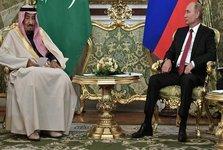 دیدار پوتین با پادشاه عربستان در ریاض