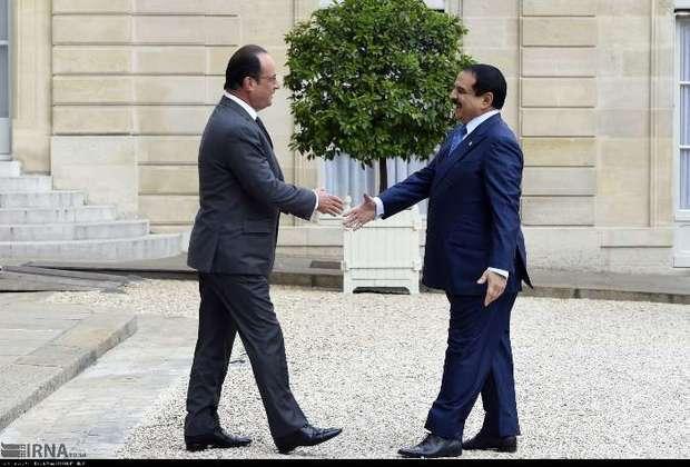 سفر شاه بحرین به فرانسه+ عکس