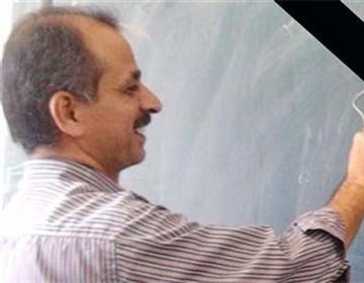 پیکر معلم بروجردی تشییع شد