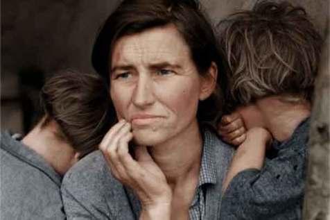 «مادر مهاجر»؛ عکسی که جاودانه شد