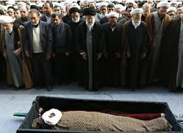 مراسم تشییع آیت الله آقامجتبی تهرانی برگزار شد