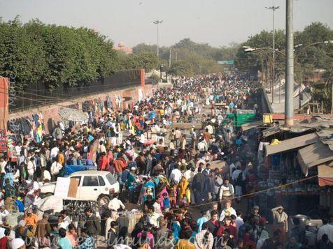 ازدحام جمعیت در هند قربانی گرفت