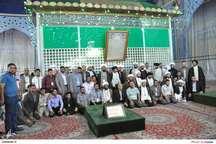 ادای احترام گروهی از روحانیون و اساتید دانشگاهی عراقی به امام راحل