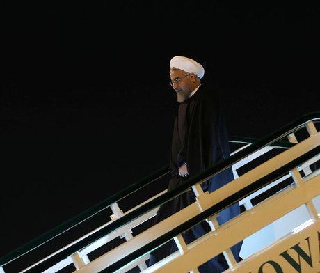 پایان سفر روحانی به کوبا/ رییس جمهوری عازم نیویورک شد