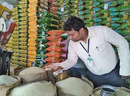 برنج و شکر تقلبی چینی به بازار هند هم رسید