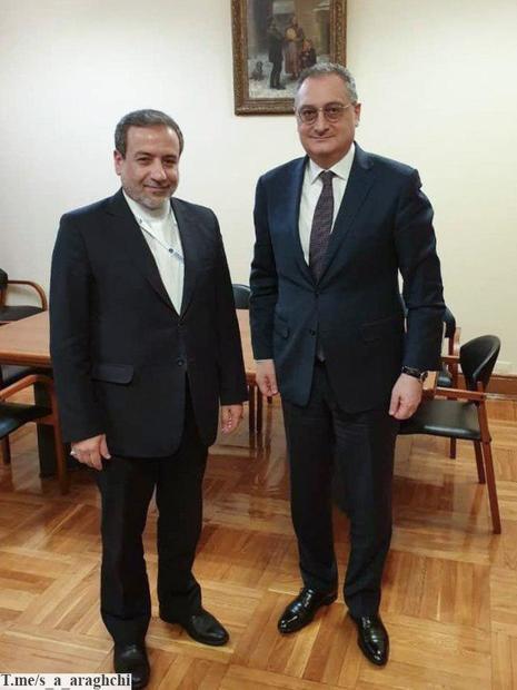 رایزنی عراقچی با معاون وزیر خارجه روسیه