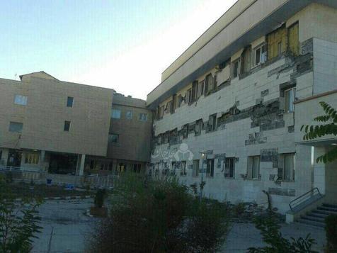 بیمارستان هایی که در زمان زلزله فرو ریختند!