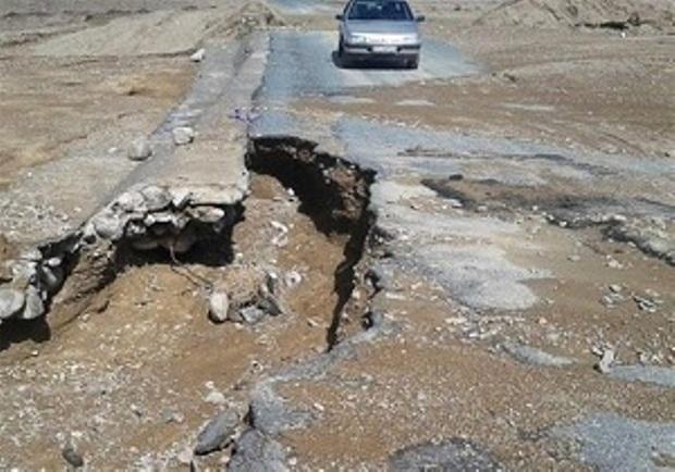 سیلاب 380 میلیارد ریال به جاده های دزفول خسارت زد