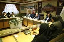نشست صمیمی استاندار با تشکل های مردم نهاد قم برگزار شد