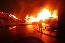 آتش سوزی یک واحد صنعتی در سمنان مهار شد