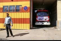 خودکشی دختر بجنوردی منجر به تصادف خودرو آتش نشانی شد