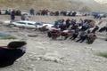 سقوط مرگبار پژو پارس در محور سادات- چرام   اعضای خانواده هفتنفره جان باختند