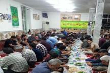 برپایی ضیافت های افطاری در امام زادگان و بقاع متبرکه گیلان