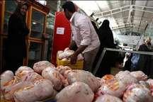 قیمت گوشت مرغ گرم در خراسان شمالی به پایین ترین حد خود رسید