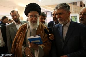 بازدید رهبر انقلاب اسلامی از نمایشگاه کتاب تهران