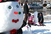 جشنواره آدم برفی در شورابیل برگزار شد