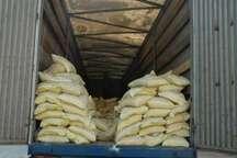 کشف و ضبط بیش از هفت تن برنج قاچاق در دزفول