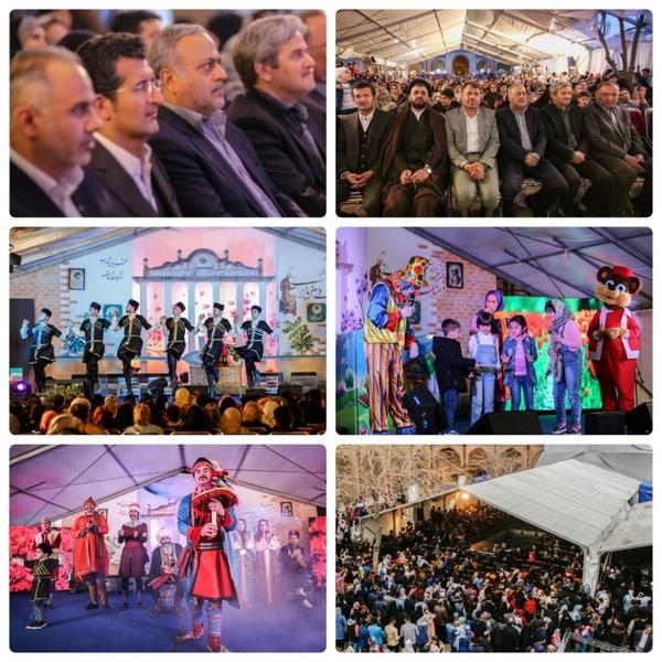 پایان دومین جشنواره فرهنگ و سنن اقوام ایرانی در قزوین